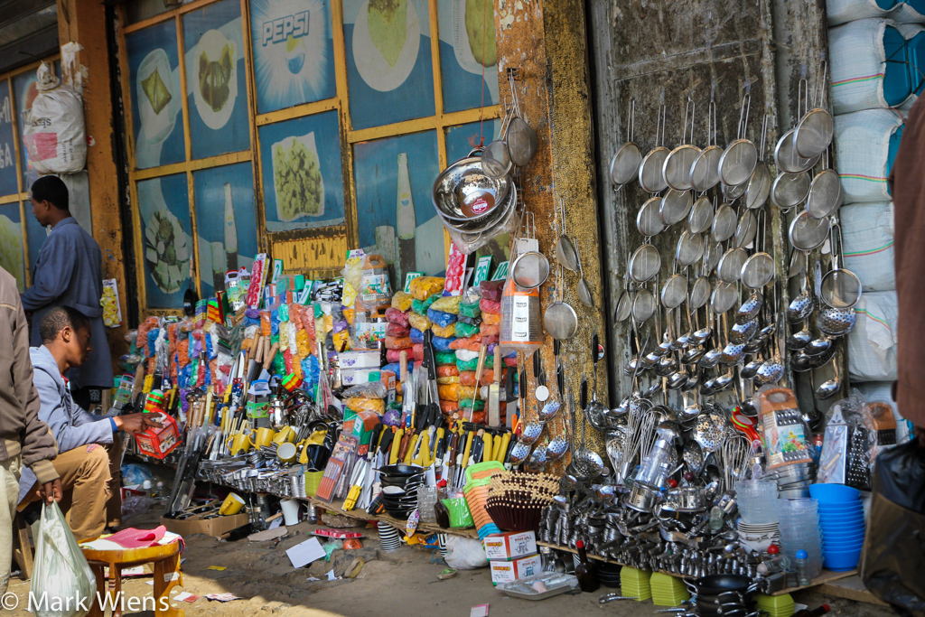 Shopping in Addis Ababa