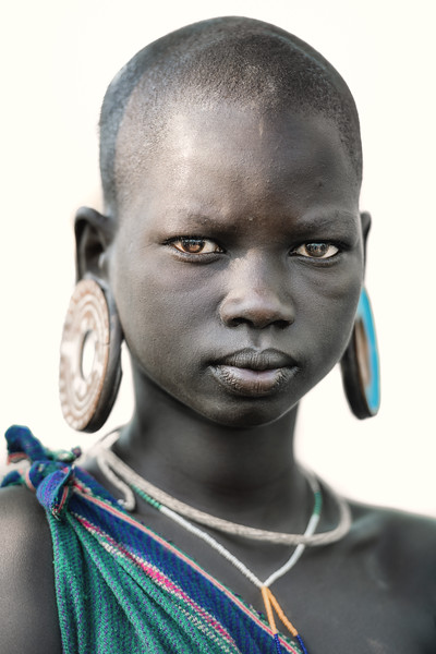 Girl of the Suri tribe