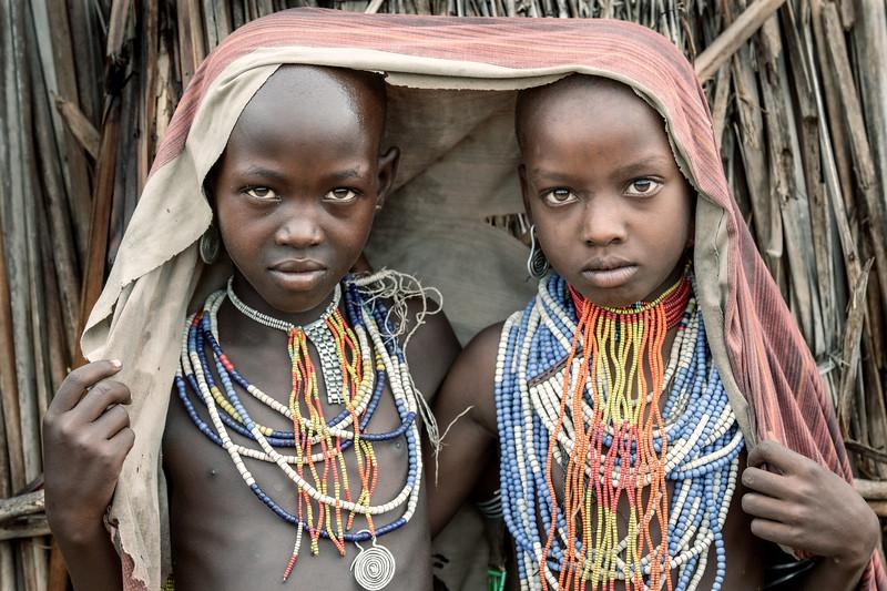 Arbore girls , Chew Bahir