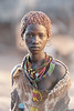 Beautiful girl of the Hamar tribe