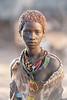 Beautiful girl of the Hamar tribe