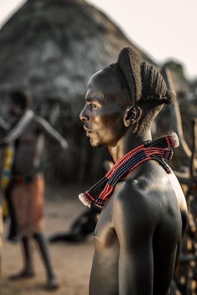 Hamar man in profile