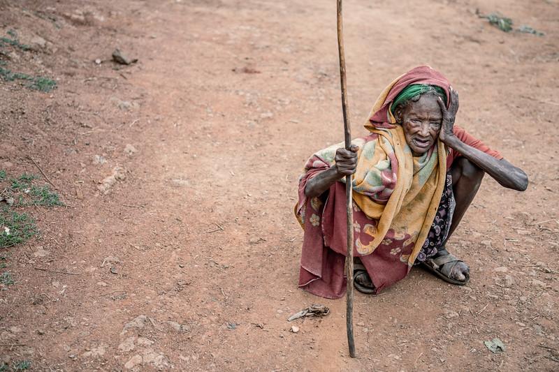 Old Konso lady
