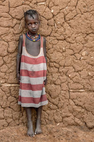 Hamar child in Turmi