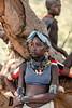 Hamar tribes girl, Turmi