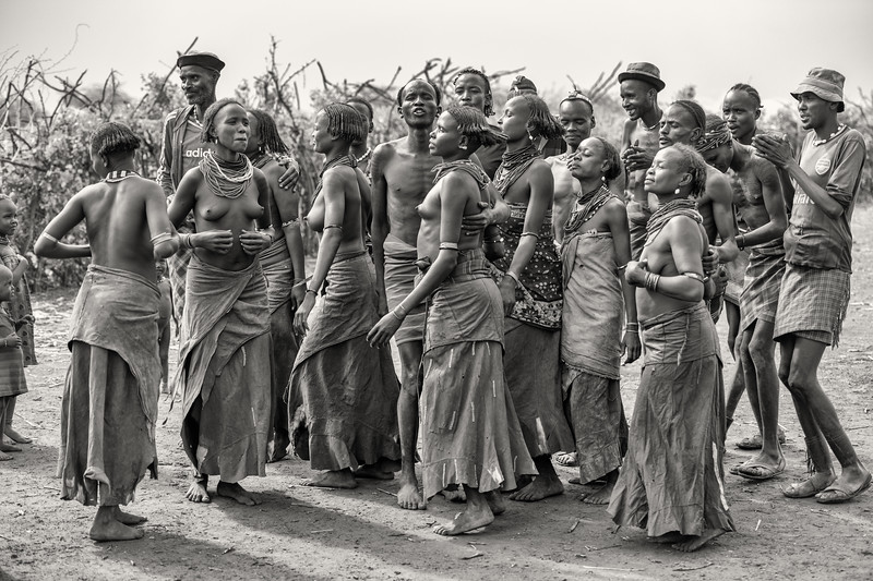 The joy of dassenech dance
