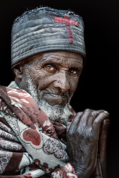 Old Lalibela priest