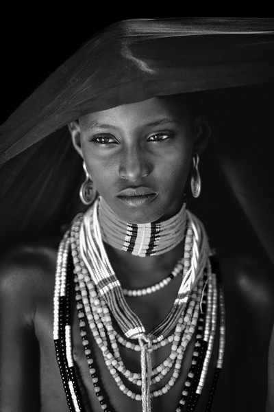 Beauty in the Arbore tribe, Omo valley