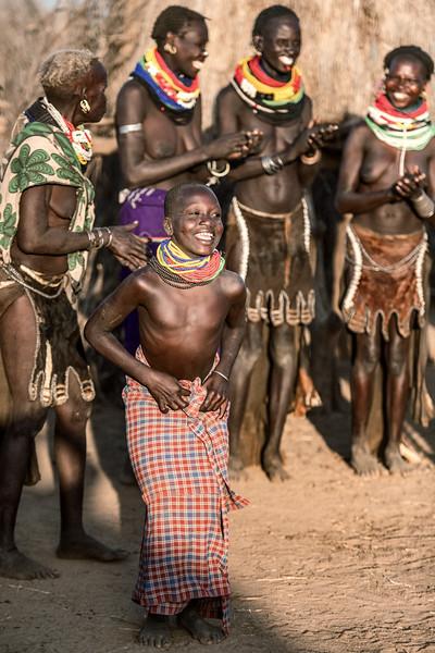 Nyangatom dancing