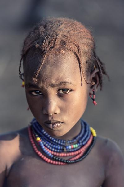 Dassenech girl, Omorate