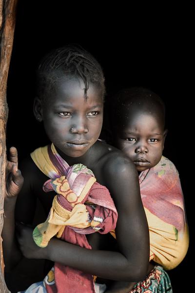 Nyangatom siblings