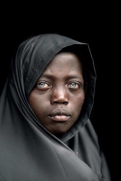 Cerulean eyes