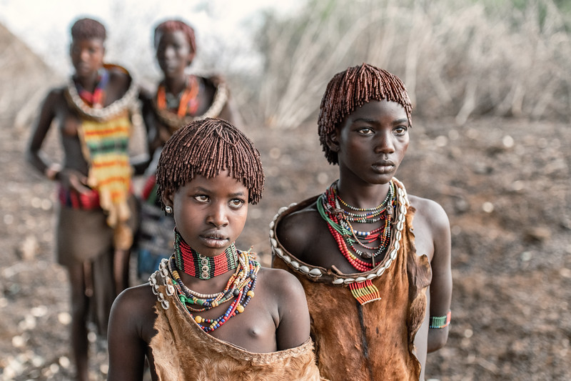 Hamar girls attired