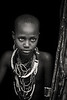 Inimitable beauty of an Arbore girl