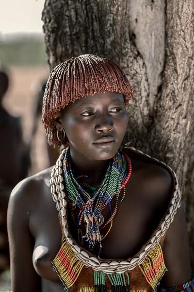 Hamar girl, Turmi