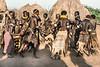 Dancing Nyangatom tribeswomen