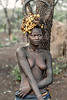 Scarified Mursi girl