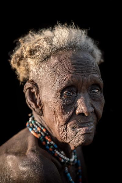 Old Dassenech woman