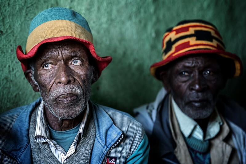 Old Dorze tribesmen