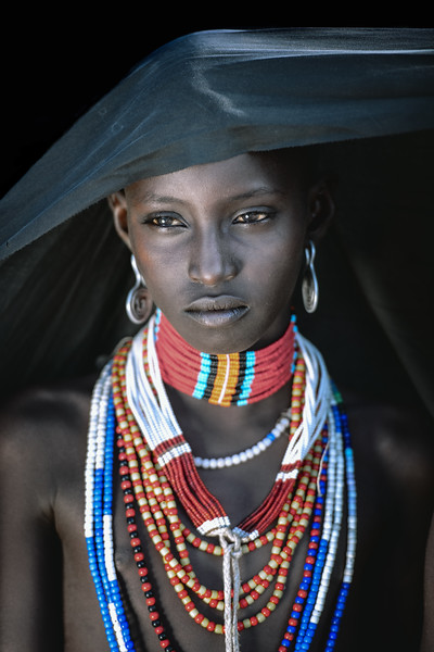 Beautiful Arbore tribesgirl