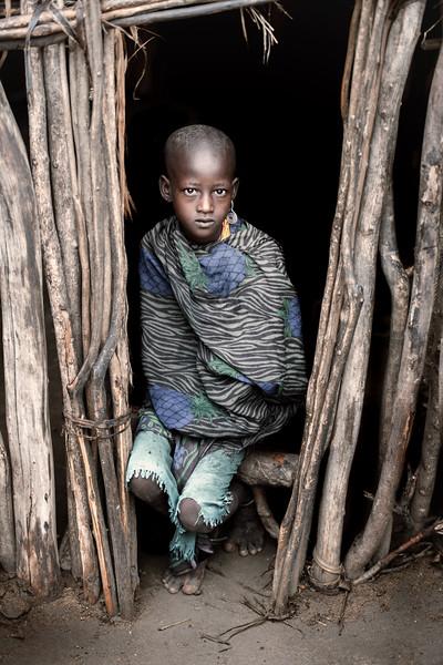 Tribal Arbore girl