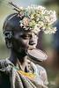 Suri woman adorned