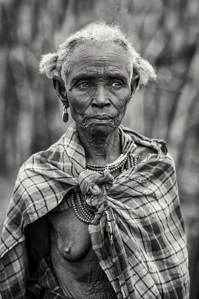 Old Dassenech lady, Omorate