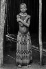Standing in the doorway, Nyangatom