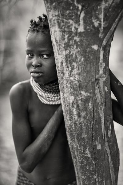 Wistful Nyangatom girl