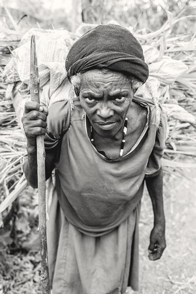 Konso woman's burden