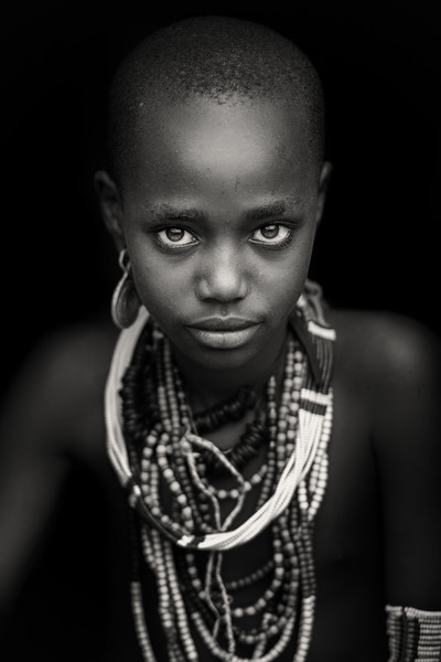 Beauty in the Arbore tribe