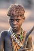 Young Hamar tribesgirl