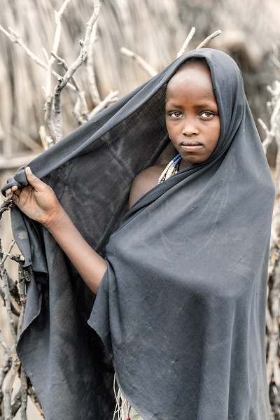 Arbore tribes girl