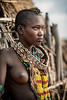 Girl of the Hamar tribe