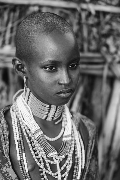 Young Arbore beauty, Omo valley