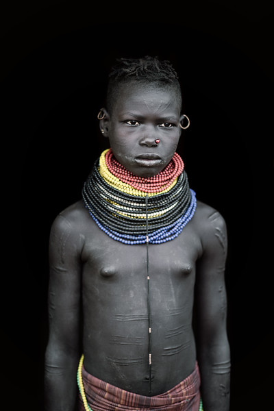 Young Nyangatom girl