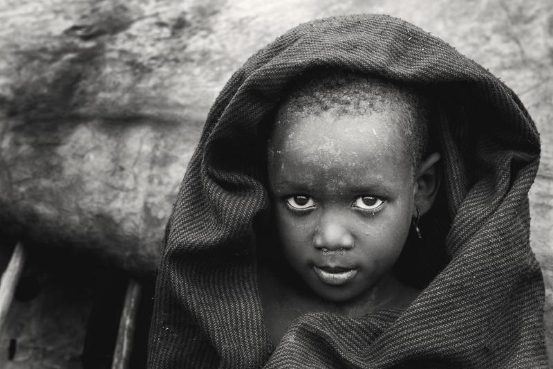 Little Daasanach  girl