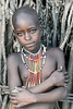Young Arbore girl Omo valley