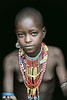 Young Arbore tribesgirl