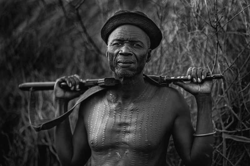 Nyangatom tribal elder, Omo
