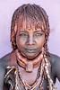 Hamar tribeswoman, Turmi