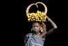 Young Mursi tribes girl