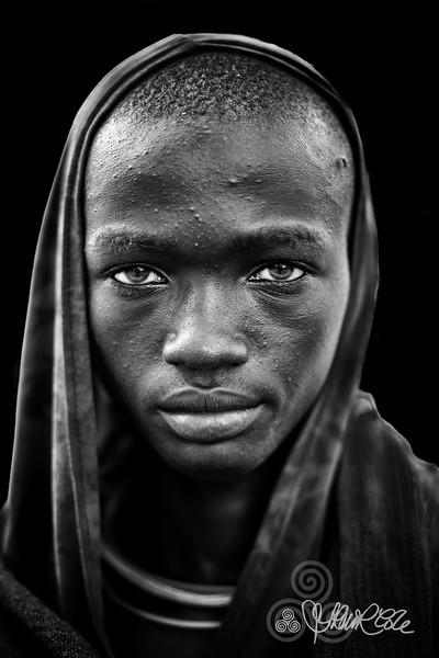 Suri portrait, Kibbish