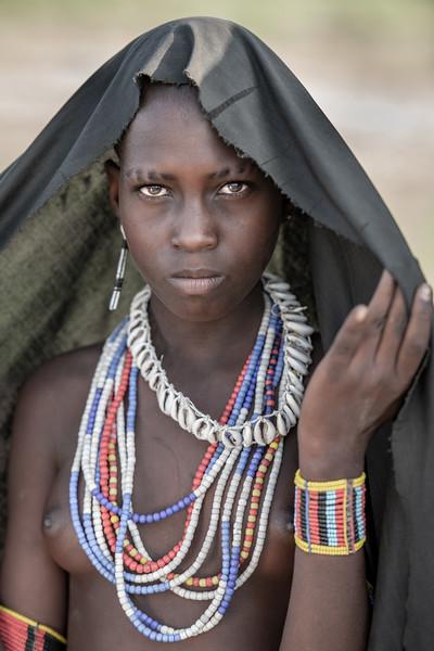 Arbore tribal girl