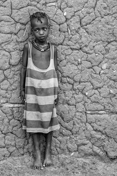 Hamar child in Turmi, Omo