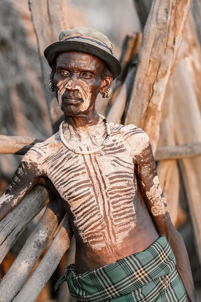 Kara tribes man