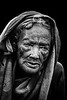 Old lady of Konso, Omo