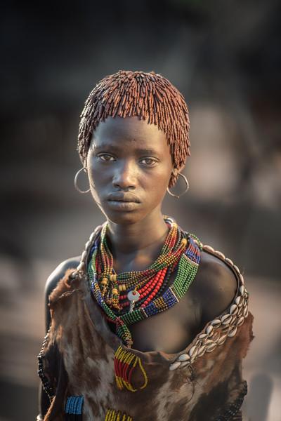 Beautiful Hamar girl