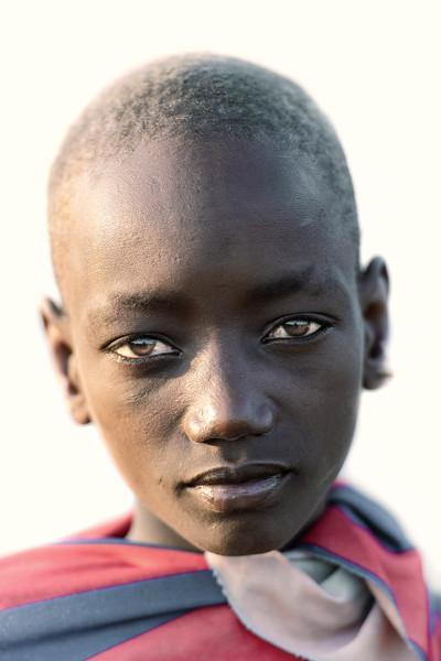 Young Dassenech tribes girl
