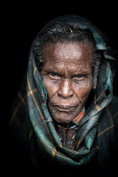 Portrait of an Arbore matriarch